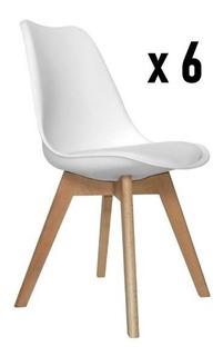 Silla Eames Tulip X 6 U Envio Gratis Cuotas S/interes