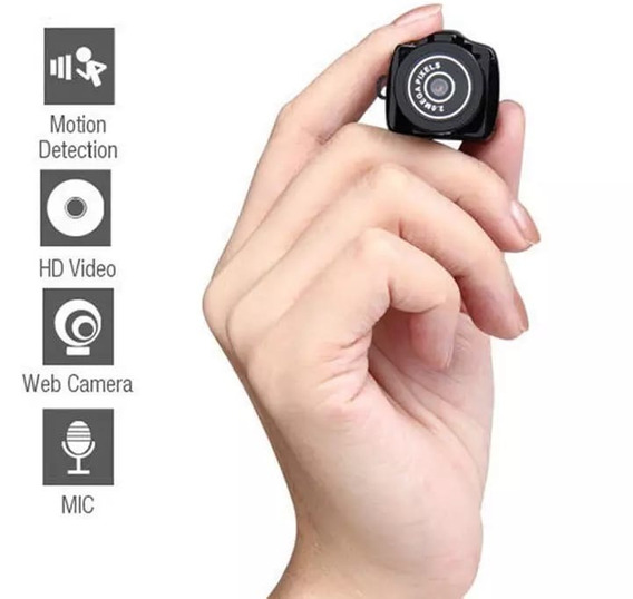 Mini Câmera Espiã Digital Sq8 Original 48