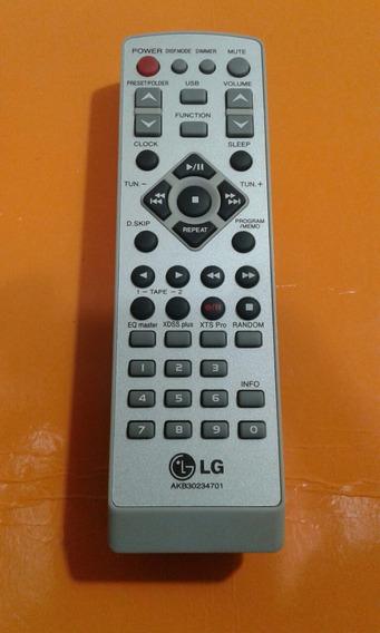 Controle Som Lg Original Akb30234701 (sem Tampa)