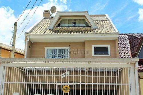 Imagem 1 de 29 de Casa Com 4 Dormitórios À Venda, 174 M² Por R$ 649.000,00 - Uberaba - Curitiba/pr - Ca0027