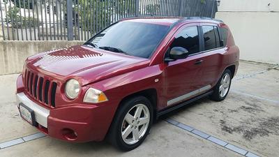 Jeep Compass Limited 2.4l 2008 Rojo