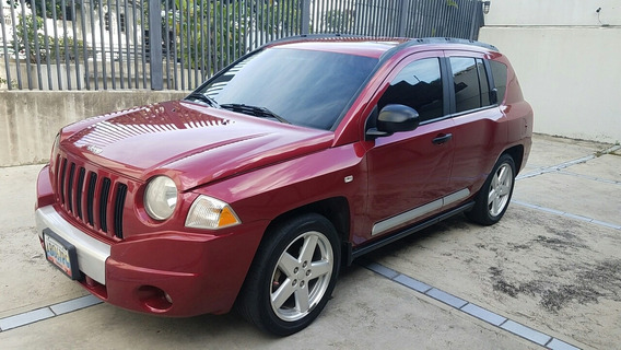 Jeep Compass Limited 2.4l 2008 Rojo