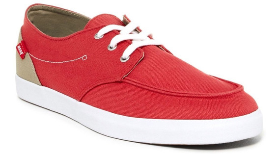 Tenis Reef Deck Hand 2 Men Rojo Original Talla 27