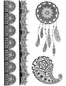 Tatuagem Temporária Henna Temos Vários Modelos