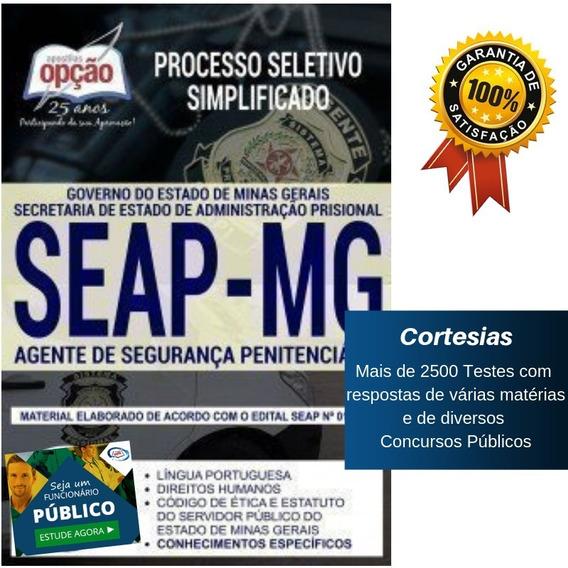 Apostila Agepen Mg Agente Penitenciário De Minas Gerais