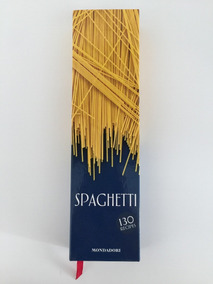 Livro Spaghetti 130 Recipes Mondadori Importado Inglês Novo!