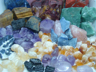 Lote Encomenda De Pedras Naturais 24/06 5kg