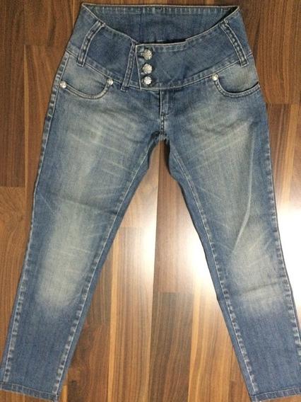 Calça Jeans Feminina Planet Girls 40 Stretch Original Oferta