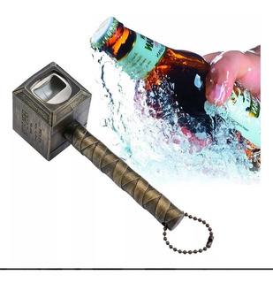 Destapador Botellas Thor Martillo Mjolnir Avengers Cerveza