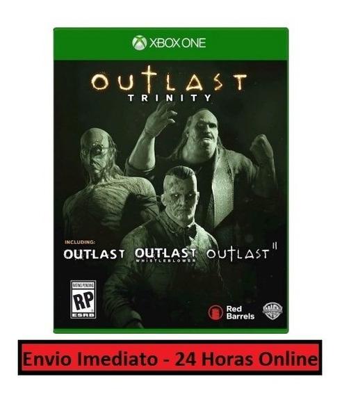 Outlast Trinity - Todos Jogos E Dlcs Xbox One Midia Digital