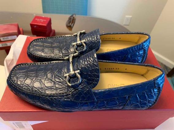 Zapatos Salvatore Ferragamo Paragi Talla 6.5ee Originales