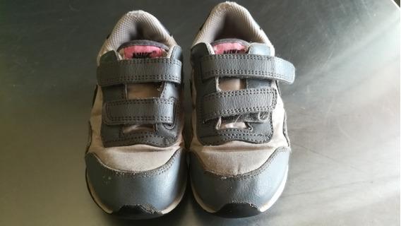 Zapatillas Nike De Nena Cuero Y Abrojo Importadas Originales
