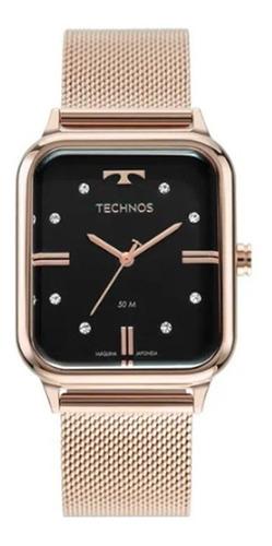 Imagem 1 de 8 de Relógio Technos Style Feminino Rosé 2039cr 1p
