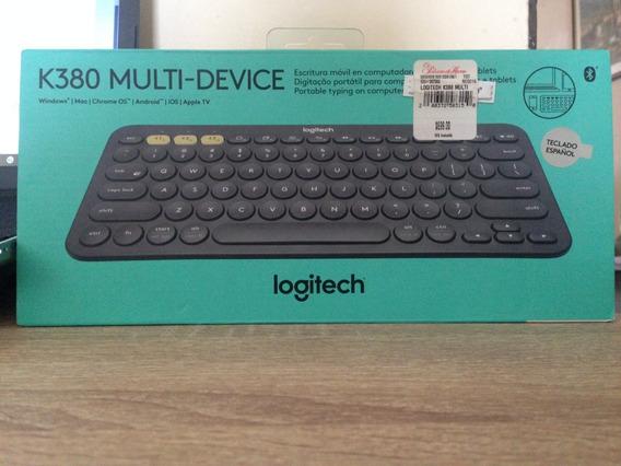 Teclado Multidispositivo Bluetooth Logitech K380
