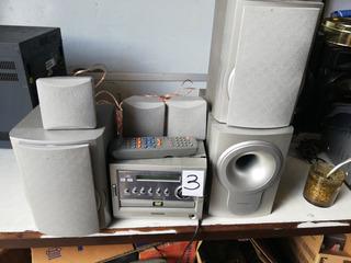 Micro Sistema Con Dvd Tonomac Ht 680011