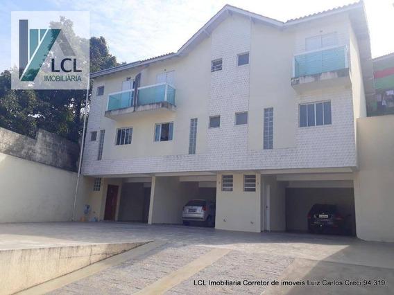 Sobrado Com 3 Dormitórios À Venda, 160 M² Por R$ 470.000,00 - Cidade Intercap - Taboão Da Serra/sp - So0017