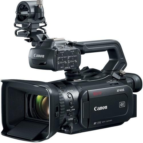 Filmadora Canon Xf405 4k Uhd 60p Camcorder Com Dual-pixel