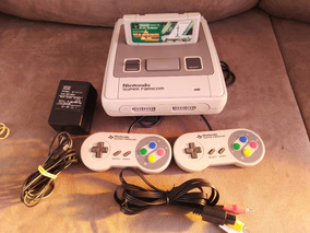 Console Super Famicom Revisado (capacitores Novos)+ Zelda