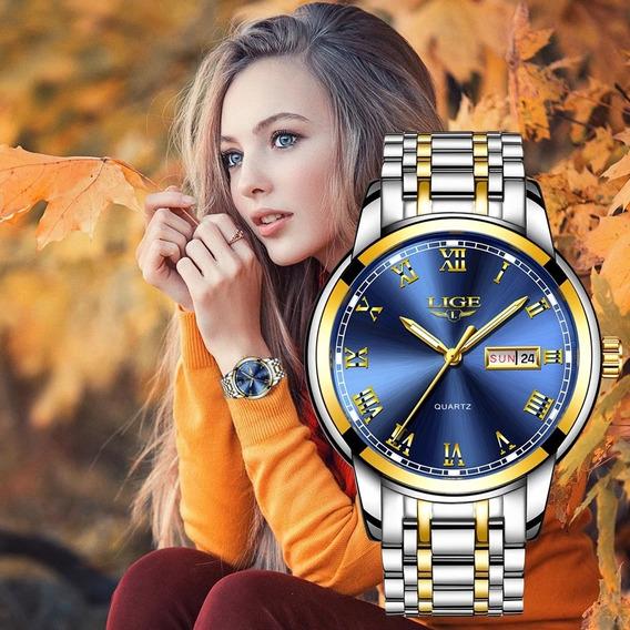 Relógio Inoxidável A Prova D