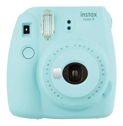 Câmera analógica instantânea Fujifilm Instax Mini 9 ice blue