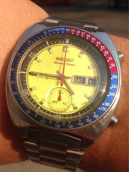 Relógio Seiko Coronel Pogue 6139 Modelo Raríssimo