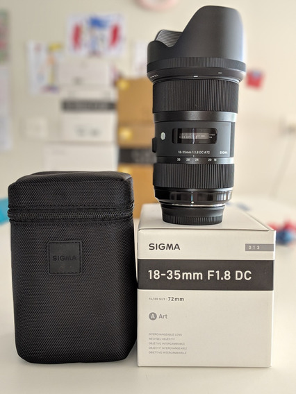 Sigma 18-35mm F/1.8 Dc Hsm Série Art (para Nikon)