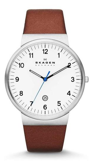 Relógio Masculino Skagen Prata Ancher - Original
