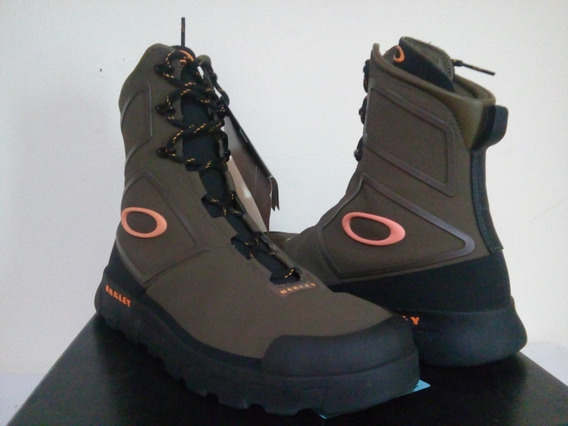 Bota Oakley Original O Md High Marron 43 Frete Gratis