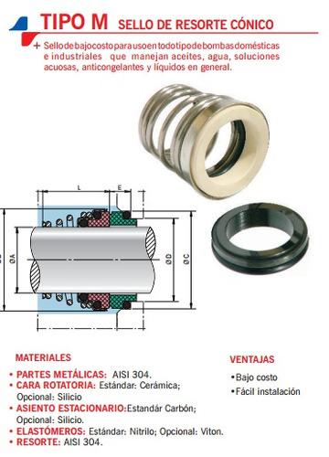 Sello Mecanico Tipo Rotten 25mm