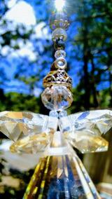 Fada De Cristal - Suncatcher - Pingente - Ametista Qualidade