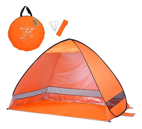 Instantâneo Pop Up Beach Tenda Leve Proteção Uv Sol