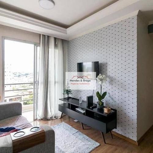 Imagem 1 de 9 de Apartamento 2 Dorm. Com Suite - Ap2485