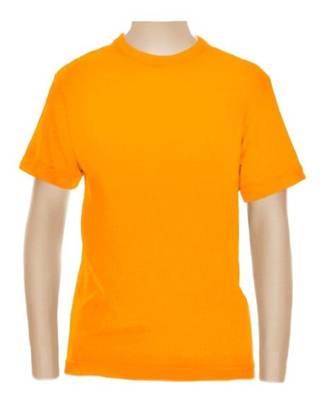 3 Camisetas Básica Infantil Ou Juvenil - Algodão