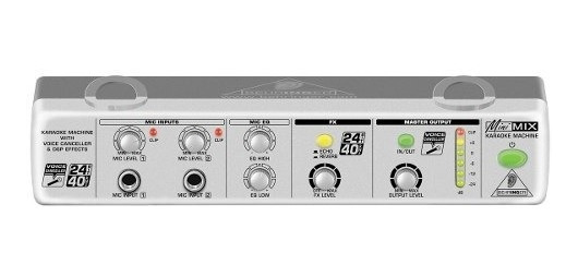 Cancelador De Voz Mix 800 Para Karaoke Minimix - Behringer