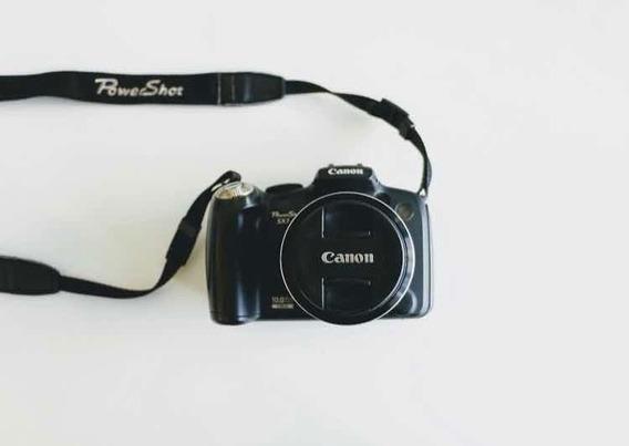 Câmera Canon Powershot Sx1ls - Usada
