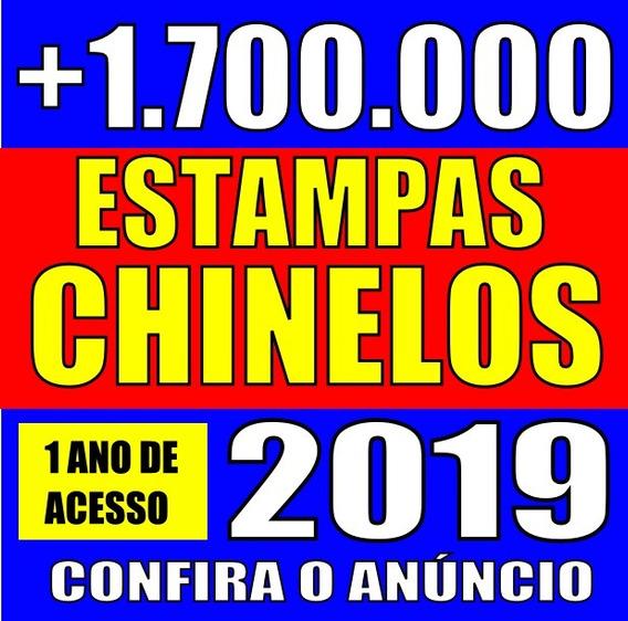 1700 Mil Estampas Para Chinelos Canecas Camisas Almofadas