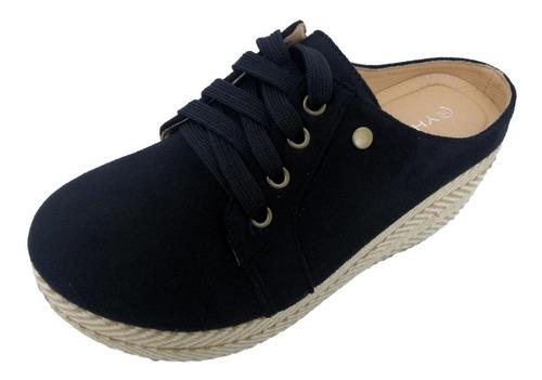 Imagen 1 de 4 de Panchita - Zapato De Mujer Yh-5 Negro