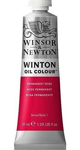 Imagen 1 de 7 de Pintura Al Oleo Winsor Y Newton Winton, Tubo De 37 Ml, Rosa