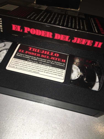 Película En Cassette, El Poder Del Jefe Ii