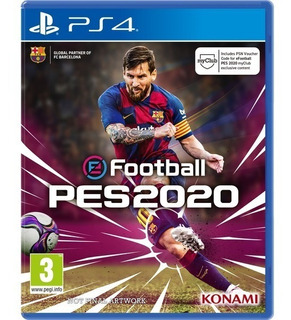 Reserva Pes 2020 Ps4 Pro Evolution Soccer 2020 + Polo E3 19