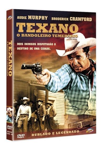 Texano... O Bandoleiro Temerário - Audie Murphy - Lacrado