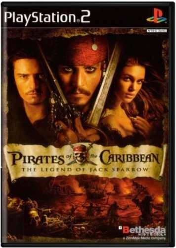 Pirates Of The Caribbean Ps2 Original Frete R$15