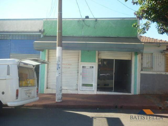 Salão Comercial Para Locação, Vila Castelar, Limeira. - Sl0013