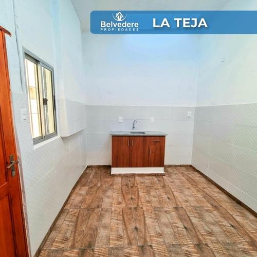 Apartamento De 1 Dormitorio Cocina Estar Baño  Patio