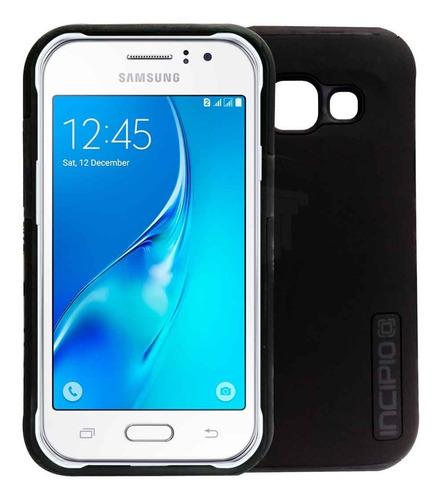 Case Forro Estuche Telefono Samsung J1 Ace Incipio Negro
