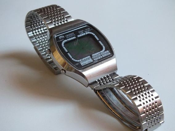 Relógio Orient Digital Retro Decada De 80