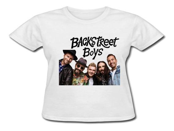 Baby Look Personalizada - Backstreet Boys Mod5