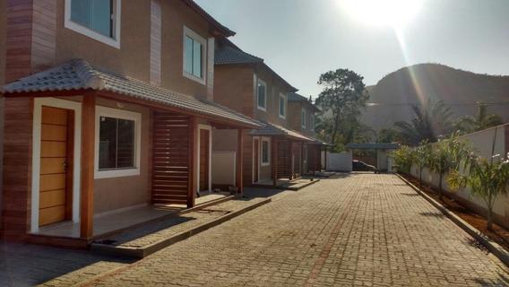 Casa Duplex Em Itaipuaçu Com 2 Quartos E Churrasqueira - 458