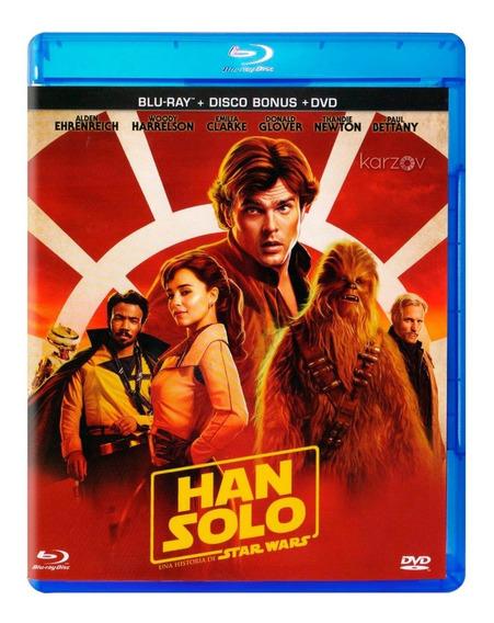 Han Solo Una Historia De Star Wars Pelicula Blu-ray + Dvd