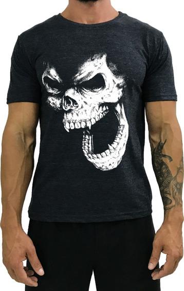 Kit 10 Camisetas Masculina Estampada Academia Camisas Treino